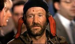 Robin williams, génie, roi pêcheur, keating